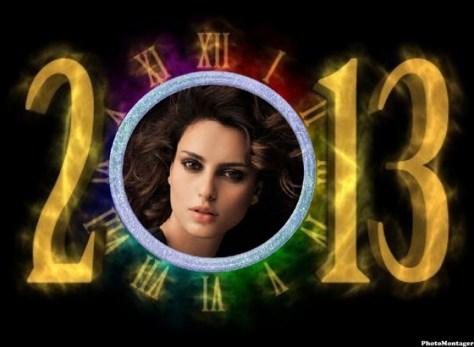 Fotomontajes para felicitar el Año Nuevo