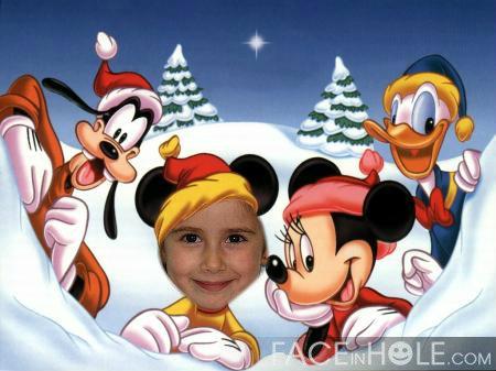 Fotomontajes Navidad Disney