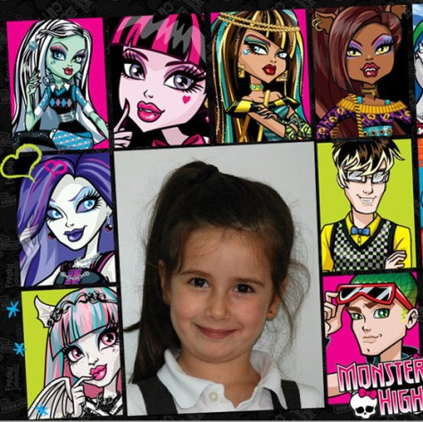 Marcos para fotos Monster High