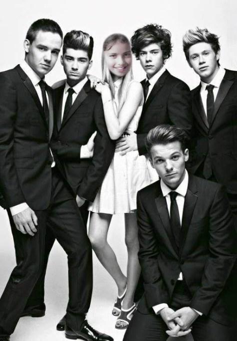 Fotoefecto con One Direction.