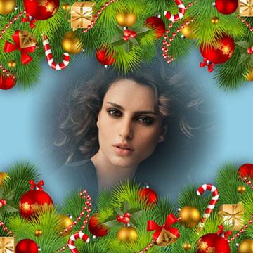 Montajes de fotos con adornos navide os - Adornos para fotos gratis ...