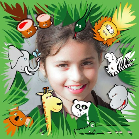 Foto Montajes infantiles con Animales.