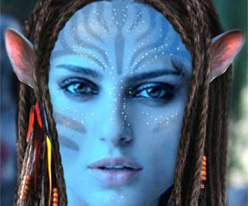 Fotoefecto Avatar para Halloween.