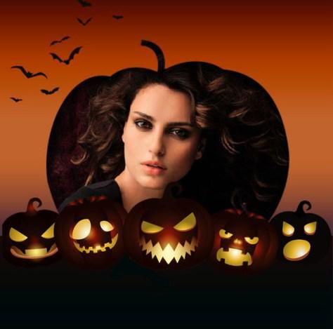 Fotomontajes con Calabazas Halloween.
