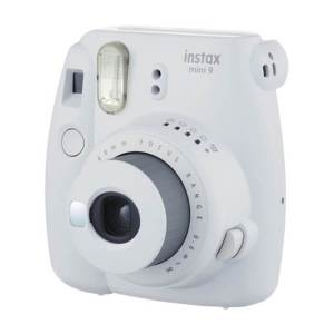 Fujifilm instax mini 9 Instant Film Camera {Smokey White}