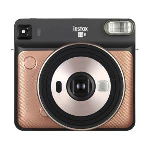 Fujifilm instax SQUARE SQ6 Instant Film Camera {Gold}