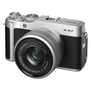 FUJIFILM X-A7 Mirrorless Camera XC 15-45mm Lens Kit {Black}