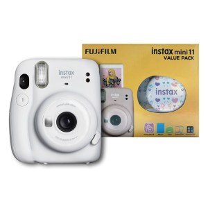 Fujifilm instax mini 11 Instant Film Camera Value Pack {Ice White}