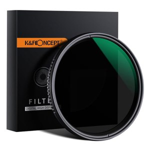 K&F 55mm Fader NDX  ND8 – ND2000 Green – KF01.1355