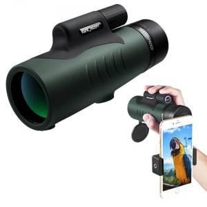 K&F Concept 12 X 50 Monocular BaK-4 Waterproof for Outdoor Travel Watching