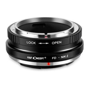 K&F M13184 Canon FD Lenses to Nikon Z Lens Mount Adapter