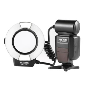 KF150 TTL Marco Ring Flash for Nikon GN14
