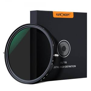 K&F 49mm CPL+Variable/Fader NDX ND2-ND32, Green