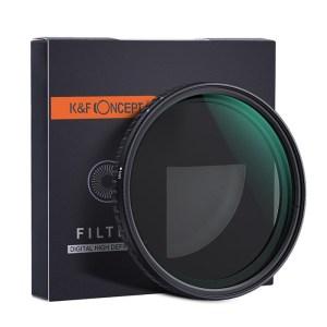 K&F 67mm Nano-X VARIABLE FADER NDX, ND8~ND128