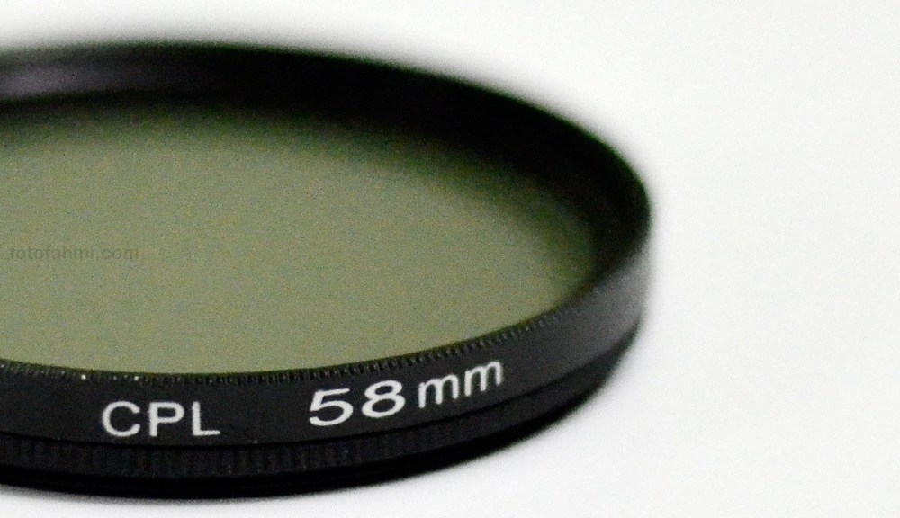 filter polarizer cpl 58mm