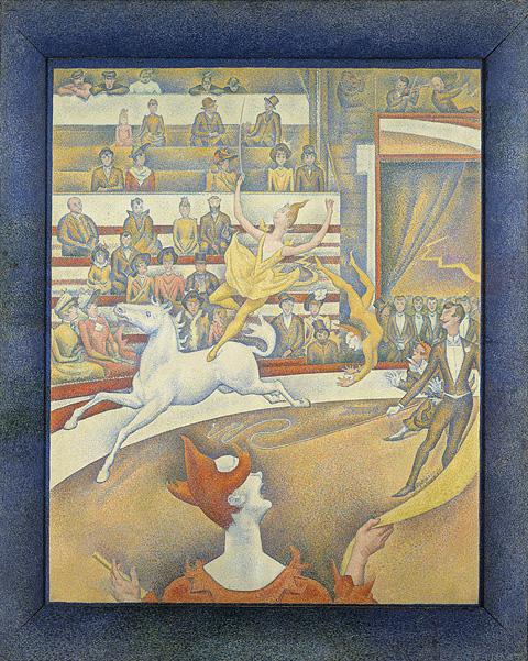 Seurat: Le Cirque, 1890-91