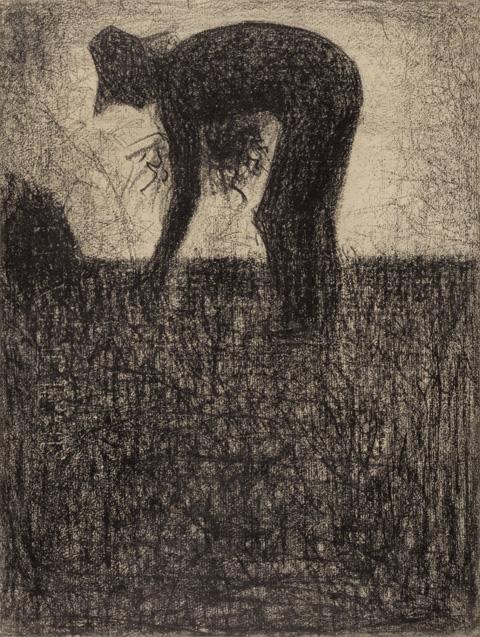 Seurat: Le Glaneur, 1882