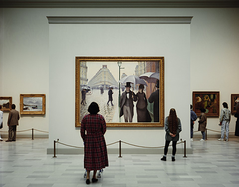 Thomas Struth, Art Institute of Chicago 2, Chicago, 1990, 138 x 175 cm