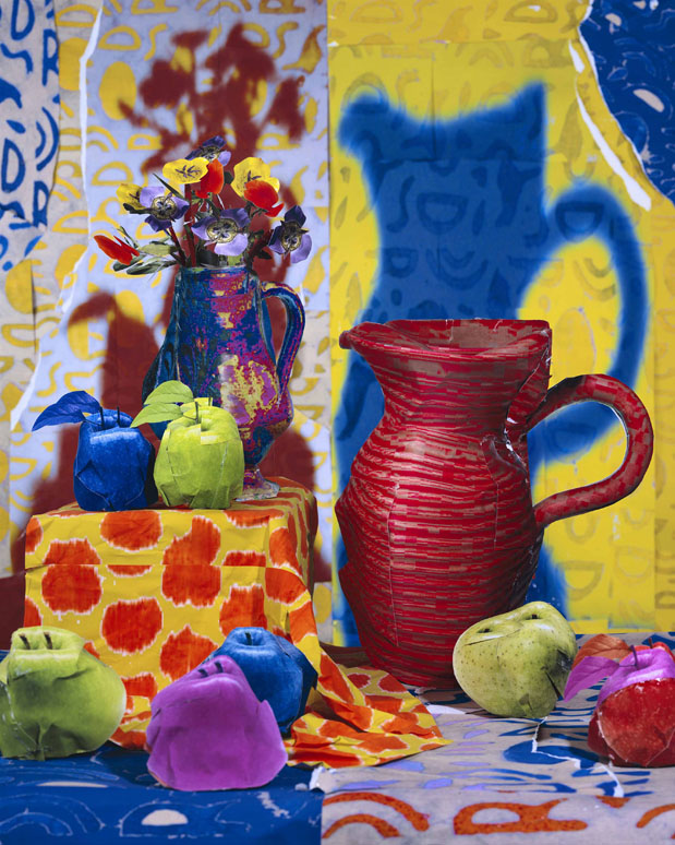 Still Life with Pitcher and Apples 2013 C Daniel Gordon