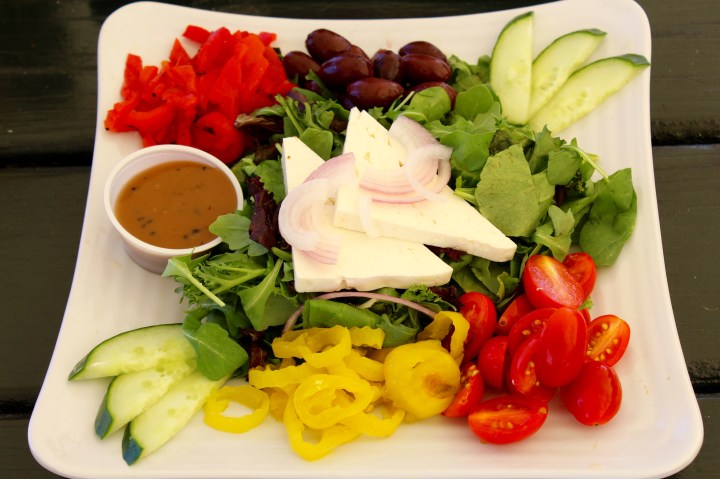 Greek veggie salad