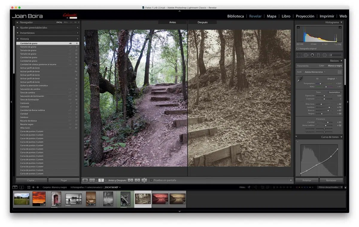 Curso rpido de Lightroom