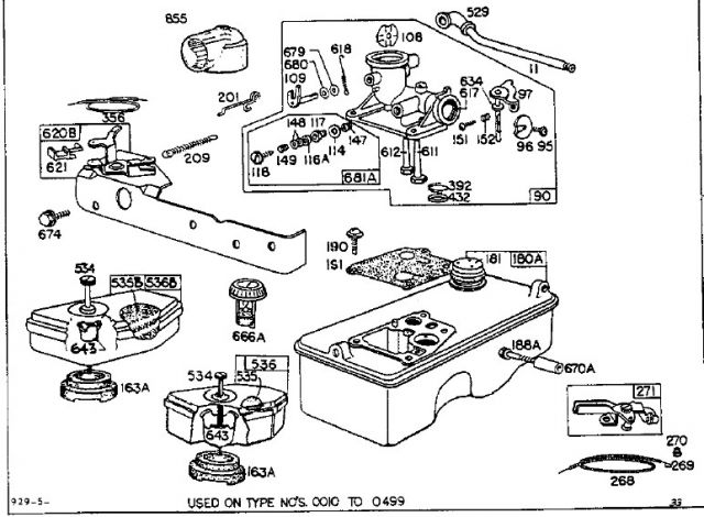 maybach schema moteur tondeuse