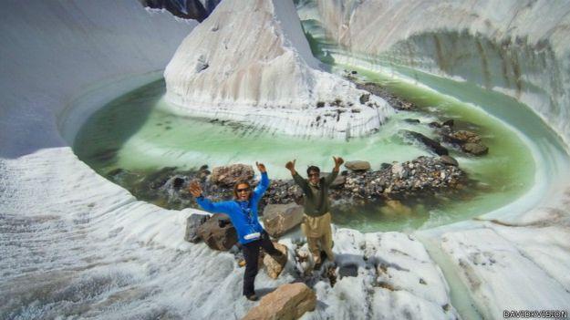 Glaciar Baltoro, Karakorum, Paquistán