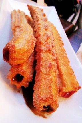 chololate churros