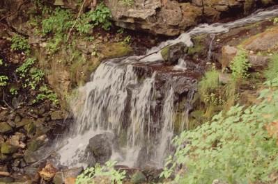 falls at hilaton falls conservation area
