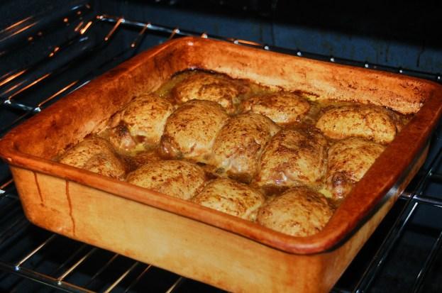 baking chicken thieghs