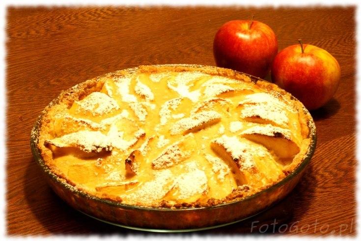 Cala tarta z jablkami