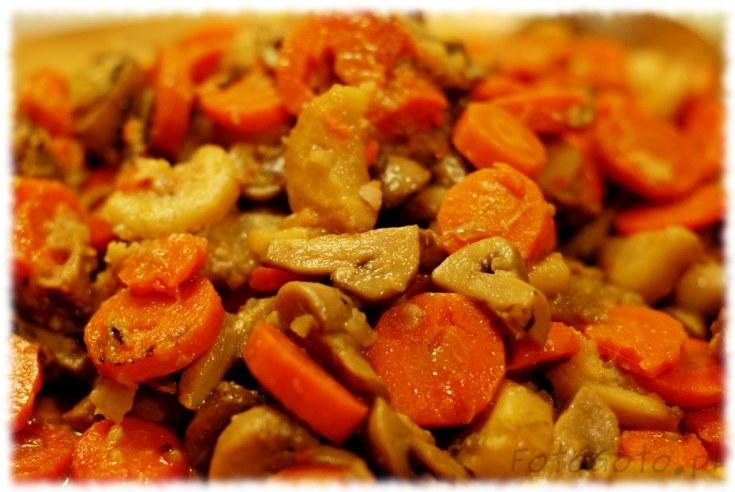 Ugotowane warzywa