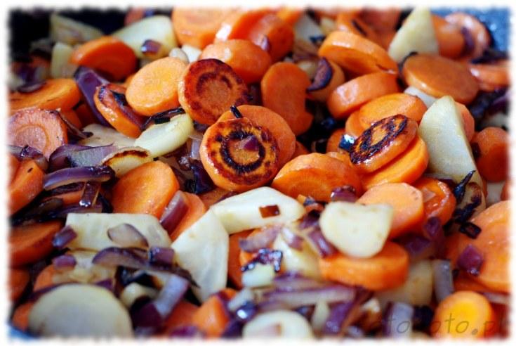 warzywa na patelnie gotowe