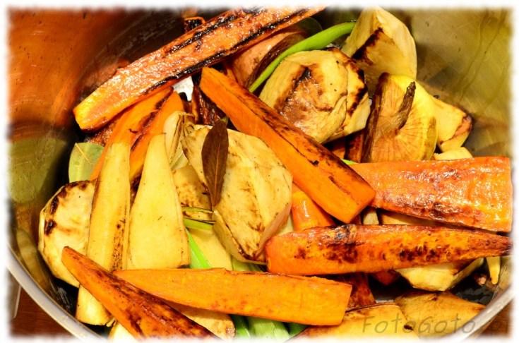 warzywa w garze