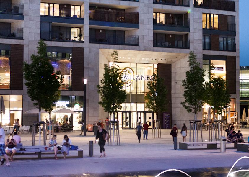 Einkaufszentrum Milaneo Shoppingcenter Stuttgart