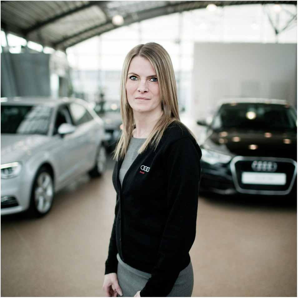 virksomhedsportræt fra Audi Horsens