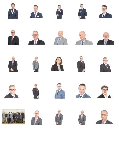 Mitarbeiter-Fotos: Das Team