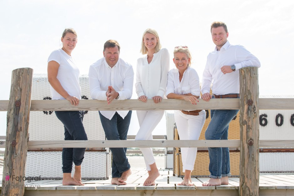 Familien Fotoshooting am Strand von St Peter Ording