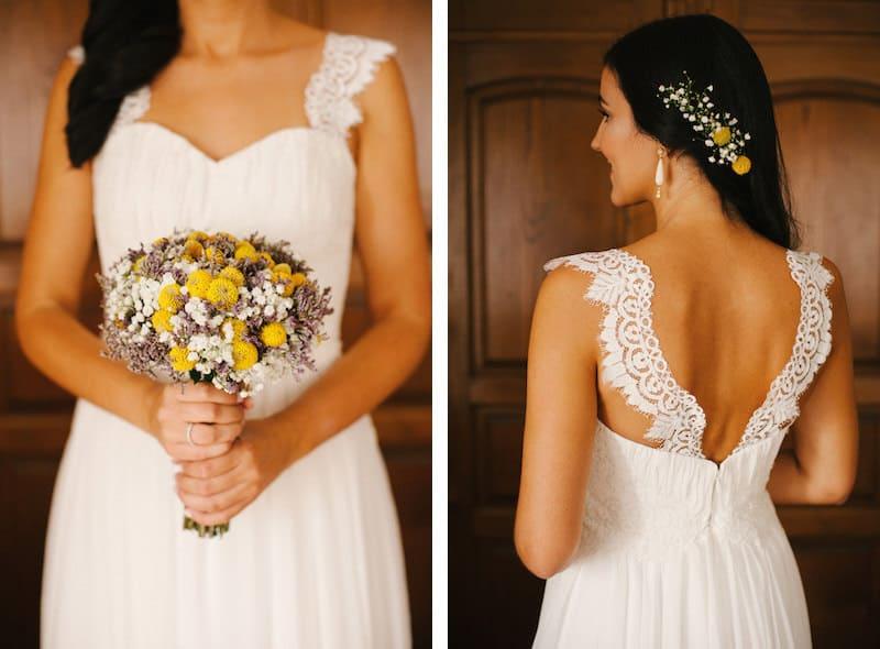 Vestido de noiva feito à medida