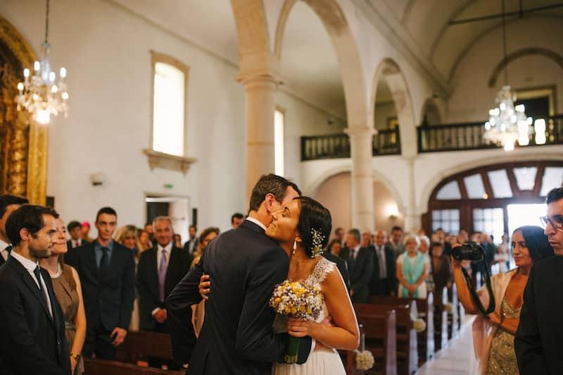 Casamento de igreja informal