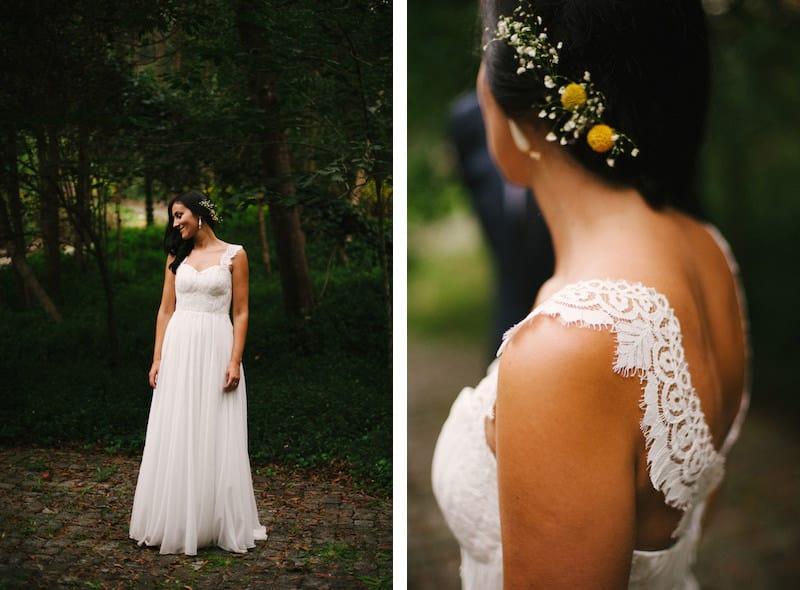 Vestido de noiva à medida