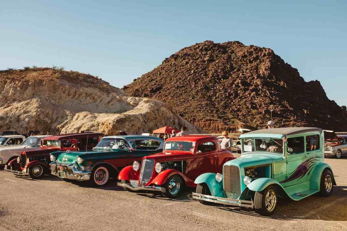 USA car show