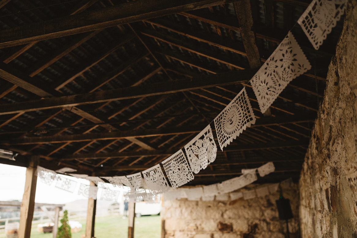 tasmania wedding photographer pooley wines mexican decoration detail