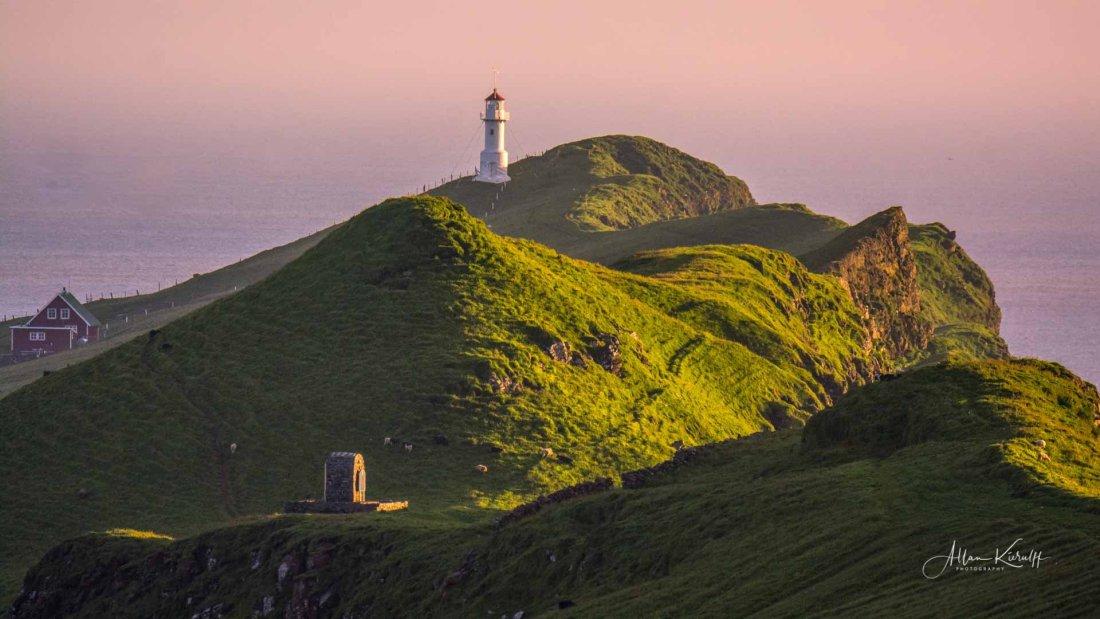 Fyret1 - Tur til Mykineshólmur Lighthouse