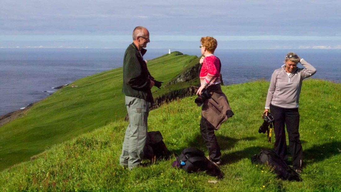 Holmen3 - Tur til Mykineshólmur Lighthouse