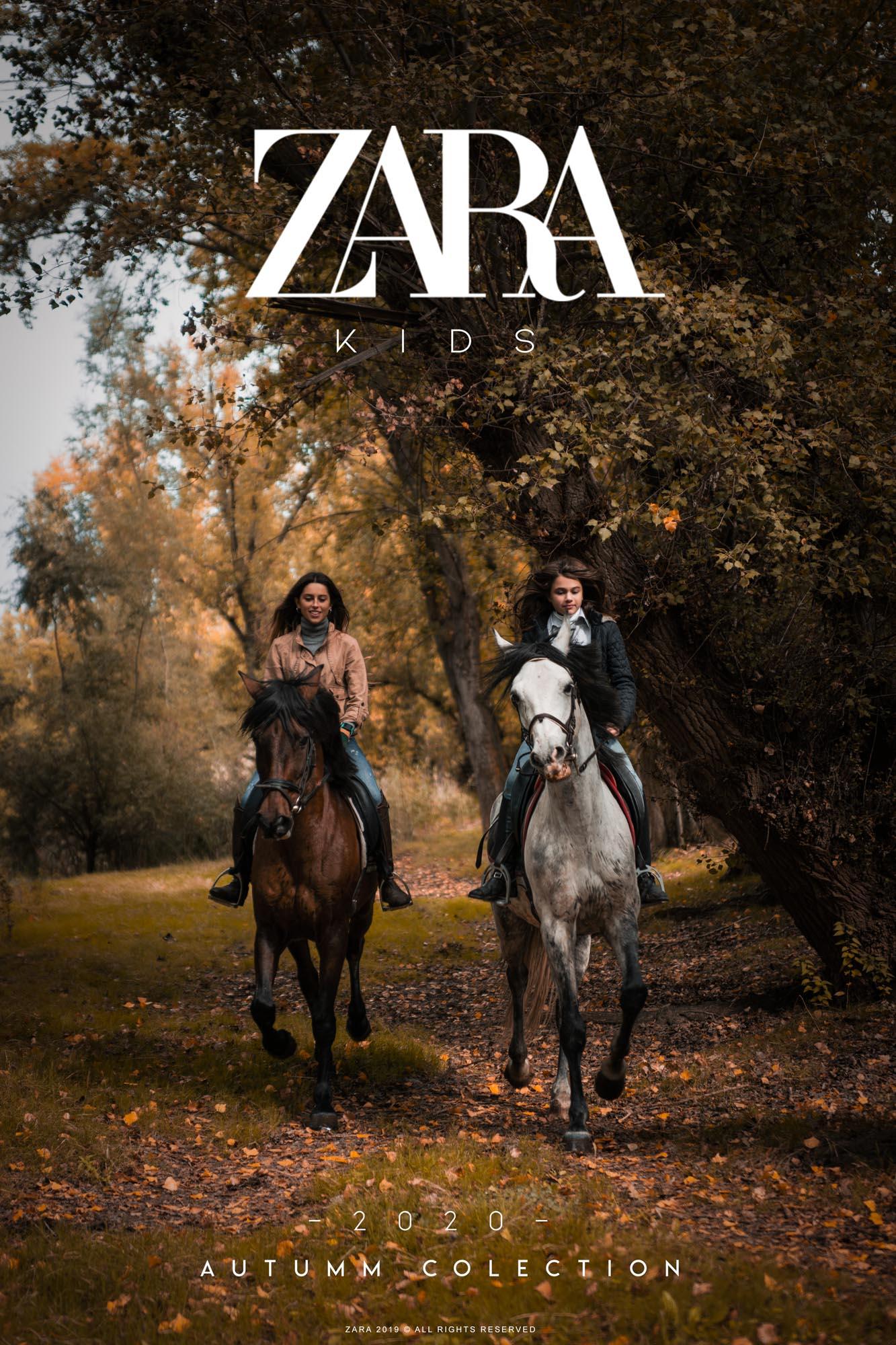 Zara Portada Caballos - Linzex