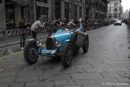 Giacomo Foglia, Maria Vittoria Foglia - Bugatti T 35 GRAND PRIX 1925