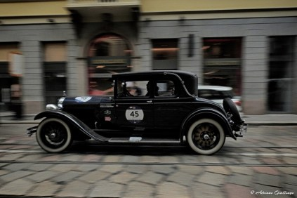 Joop Jansen, Evelien Jansen - BUICK MASTER SIX COUPE 1928