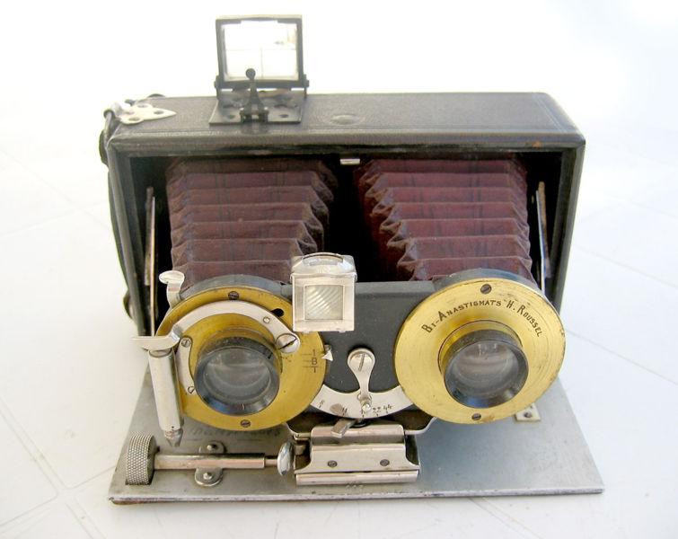 Stereoscopia e macchina fotografica stereoscopica - Stereoscopio a specchi ...