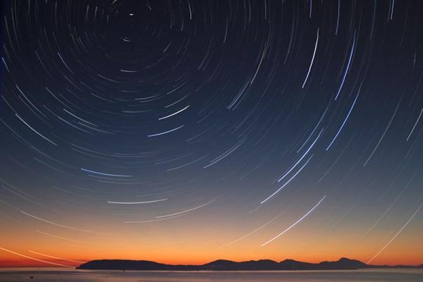 trail stars photography